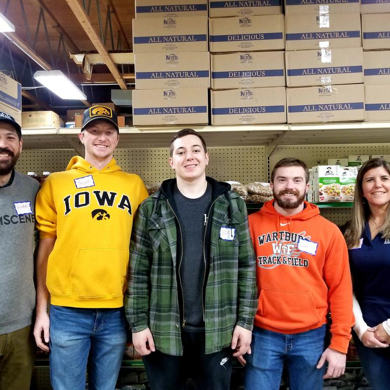 HBK Volunteers assist at the CommUnity Crisis Center and Food Bank